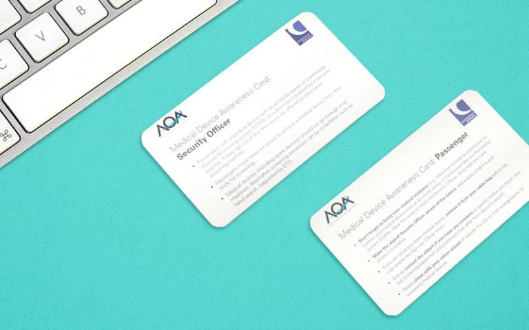 Medical Device Awareness Card